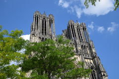 Cathédrale de Reims Royalty Free Stock Photography