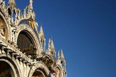 Cathédrale de repère de saint, Venise image libre de droits