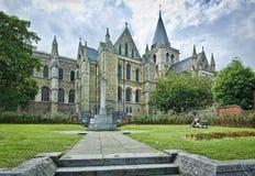 Cathédrale de Rochester photo libre de droits