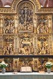 Cathédrale de Roskilde image libre de droits