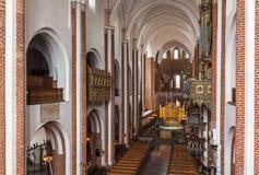 Cathédrale de Roskilde, Danemark image stock