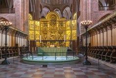 Cathédrale de Roskilde, Danemark photo libre de droits