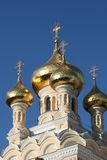 Cathédrale de rue Alexandre Nevski Photos libres de droits