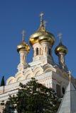 Cathédrale de rue Alexandre Nevski Image stock