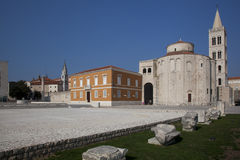 Cathédrale de rue Anastasia Photo stock