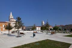 Cathédrale de rue Anastasia Image libre de droits
