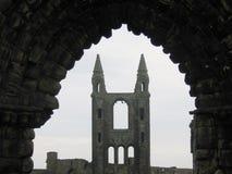 Cathédrale de rue Andrews Photos libres de droits