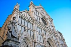 Cathédrale de rue Croce Photo libre de droits