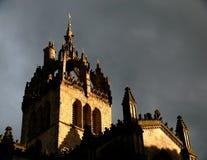 Cathédrale de rue Giles Image libre de droits