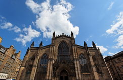 Cathédrale de rue Giles. Edimbourg. l'Ecosse. LE R-U. Photo libre de droits