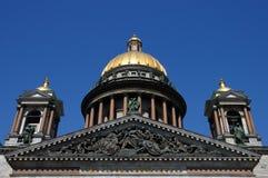 Cathédrale de rue Isaac à St Petersburg Photographie stock