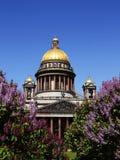 Cathédrale de rue Isaac à St Petersburg. La Russie. Images stock