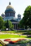 Cathédrale de rue Isaac Image libre de droits