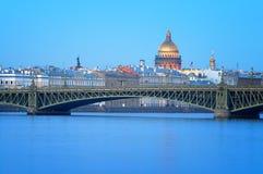 Cathédrale de rue Isaac, St Petersburg, Russie. Image libre de droits