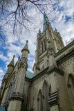 Cathédrale de rue james Image libre de droits