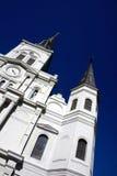 Cathédrale de rue Lous Photographie stock libre de droits