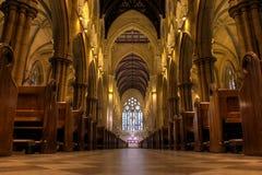 Cathédrale de rue Mary intérieure Images libres de droits