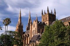 Cathédrale de rue Mary. Sydney Image stock