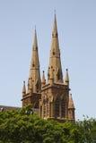 Cathédrale de rue Marys à Sydney, Australie Image libre de droits