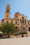 Cathédrale de rue Minas Image libre de droits