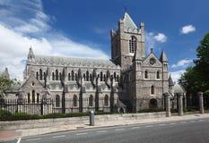 Cathédrale de rue Patrick à Dublin, Irlande Images libres de droits