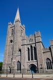 Cathédrale de rue Patrick Images stock