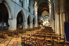Cathédrale de rue Patrick Image libre de droits