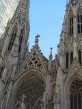 Cathédrale de rue Patrick image stock