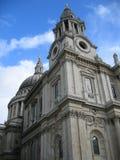 Cathédrale de rue Paul Image libre de droits