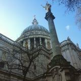Cathédrale de rue Paul, Londres Photos stock