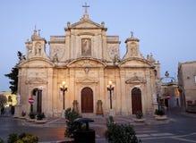 Cathédrale de rue Paul, Rabat Photo stock