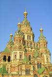Cathédrale de rue Peter et Paul dans Peterhof Photos libres de droits