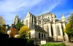 Cathédrale de rue Pierre, Nantes Photographie stock libre de droits