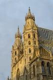 Cathédrale de rue Stephen, Vienne Images libres de droits