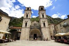 Cathédrale de rue Tryphon Photos libres de droits
