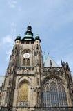 Cathédrale de rue Vitus à Prague Photos libres de droits