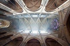 Cathédrale de rue Vitus à Prague Photographie stock libre de droits