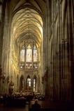 Cathédrale de rue Vitus, Image libre de droits