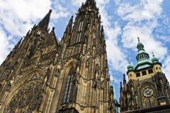 Cathédrale de rue Vitus, Prague Image libre de droits