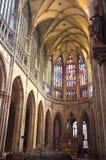 Cathédrale de rue Vitus, Prague Photo libre de droits