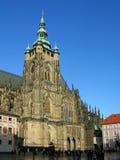 Cathédrale de rue Vitus, Prague, République Tchèque Image libre de droits