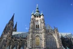 Cathédrale de rue Vitus, Prague, République Tchèque photographie stock libre de droits