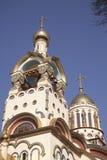 Cathédrale de rue Vladimir à Sotchi, Russie Photographie stock libre de droits