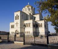 Cathédrale de rue Vladimir. Image libre de droits