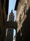 Cathédrale de rue Zeno - Pistoie images stock
