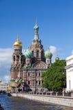 Cathédrale de Russia.Spas-na-krovi images stock