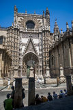 Cathédrale de Séville, Plaza de Espana Photo libre de droits