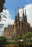 Cathédrale de Sagrada Familia Photo stock