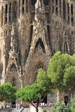Cathédrale de Sagrada Familia Image libre de droits