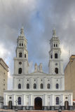 Cathédrale de Sagrada Familia dans Bucaramanga Image stock